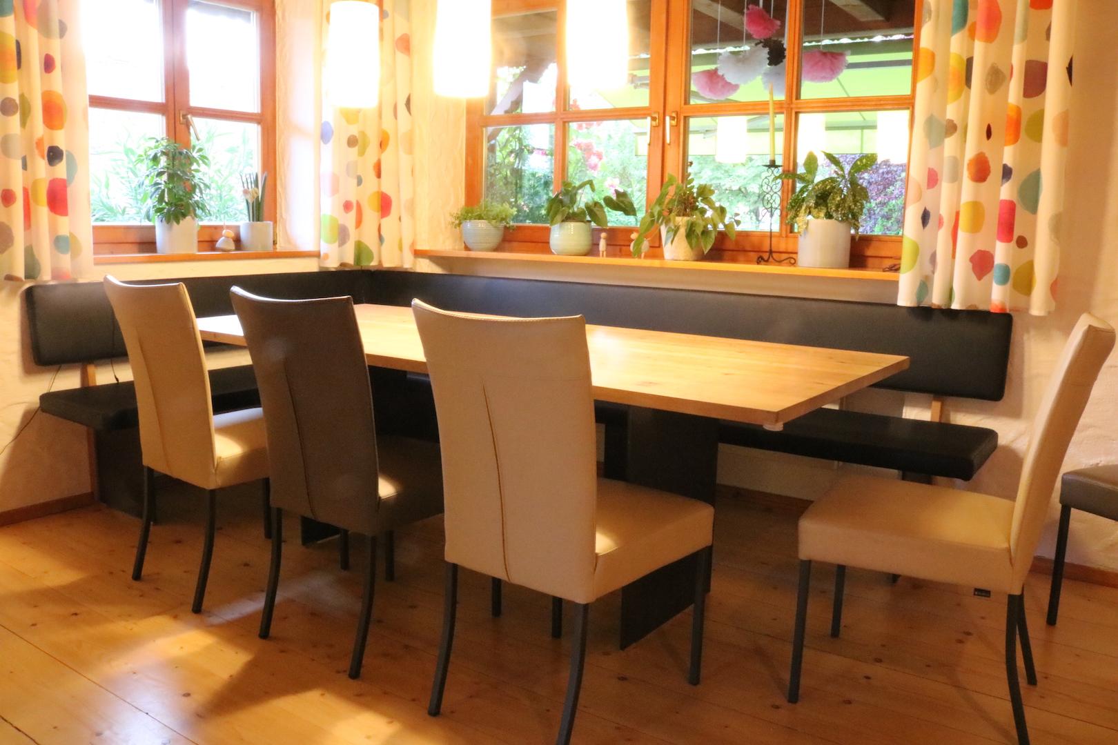 Sitzgruppe Esszimmer Holzwerkstatt Widl